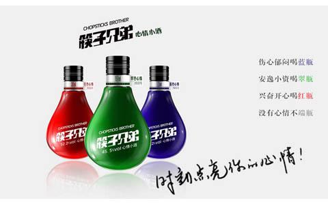 筷子兄弟心情小酒首秀2015成都糖酒会
