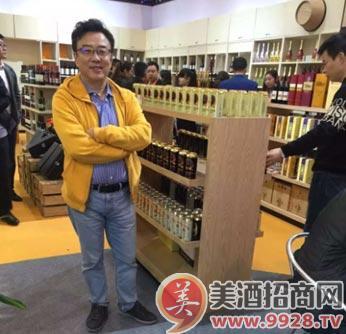 """""""酒老板""""销售总监朱华昌"""