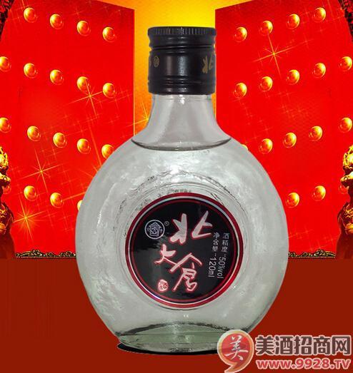 浓香型50度120ml北大仓2两半小瓶酒