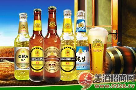 弘利方啤酒:口感纯正,自然爽口,市场受欢迎