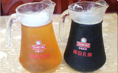 青岛啤酒在肯德基开卖精酿扎啤
