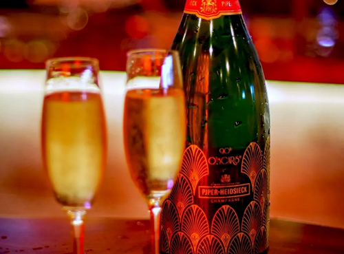 第90届奥斯卡金像奖定制的香槟