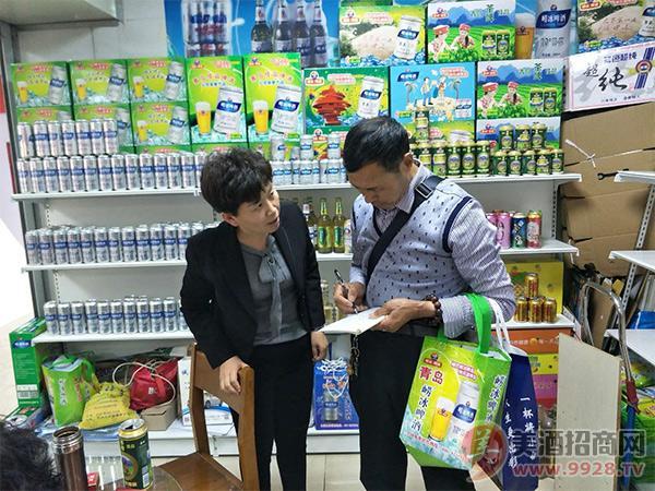"""2018春糖会上青岛佳品啤酒有限公司迎""""开门红"""""""