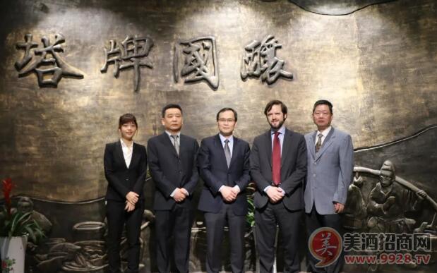 西班牙驻上海总领事馆经济商务领事到塔牌绍兴酒公司考察