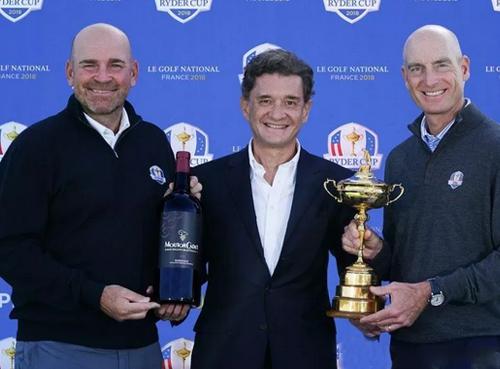 木桐酒庄将赞助2018年莱德杯高尔夫赛