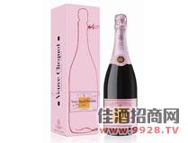 凯歌粉红香槟酒