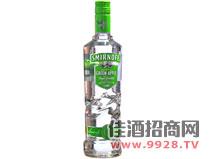 皇冠伏特加酒青苹果味