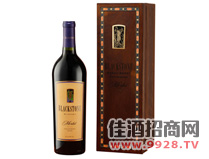 酿酒师美乐红葡萄酒
