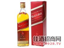 尊尼获加红牌威士忌酒