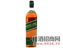 尊尼获加绿牌威士忌酒