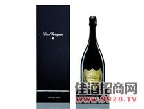 唐培里侬香槟王2002年份香槟酒