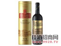 华夏好汉赤霞珠干红葡萄酒