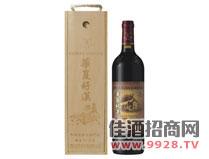 华夏好汉干红葡萄酒烟台92产区