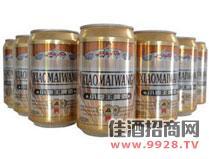 小麦王啤酒罐装
