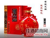 望儿山中国红