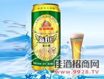 新一代小麦啤500ml易拉罐