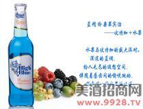 蓝精伶鸡尾酒(杂果宾治)