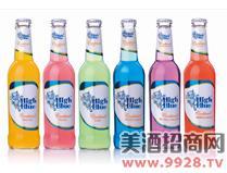 蓝精伶鸡尾酒