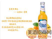 蓝精伶鸡尾酒(橙味)
