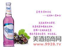 蓝精伶鸡尾酒(黑加仑)