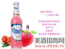 蓝精伶鸡尾酒(蜜桃)