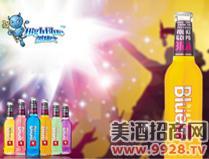 蓝精伶预调酒(橙味)