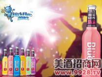 蓝精伶预调酒(蜜桃味)