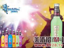 蓝精伶预调酒(青柠味)