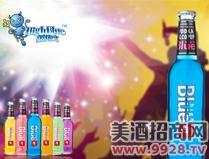 蓝精伶预调酒(什果味)