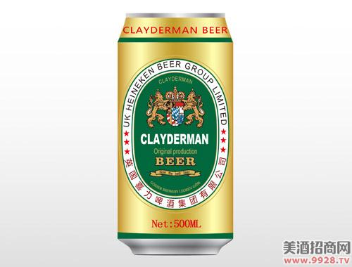 克莱德曼啤酒金色500ml