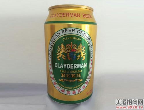 克莱德曼黄啤酒325ml