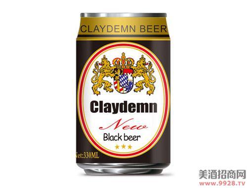 克莱德曼黑啤酒330ml