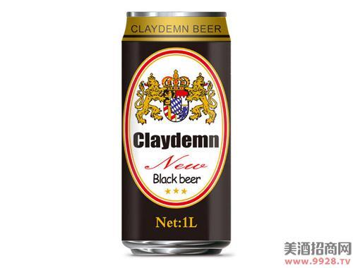 克莱德曼黑啤酒