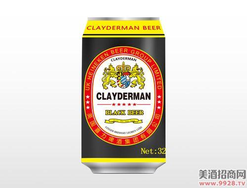 喜力啤酒黑色330ml