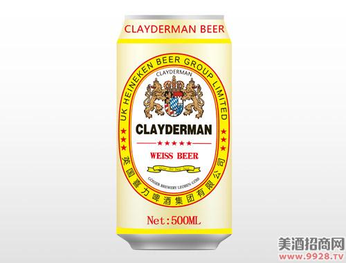 喜力白啤酒500ml