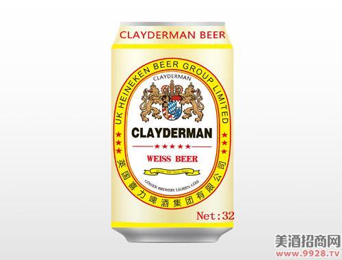 喜力白啤酒330ml