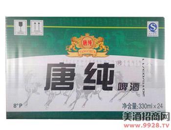 唐纯啤酒330mlx24
