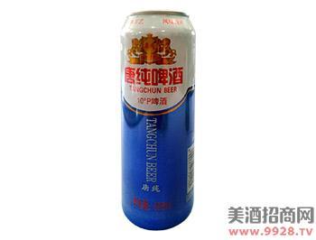 唐纯啤酒500ml