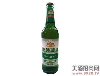 唐纯啤酒10-500ml