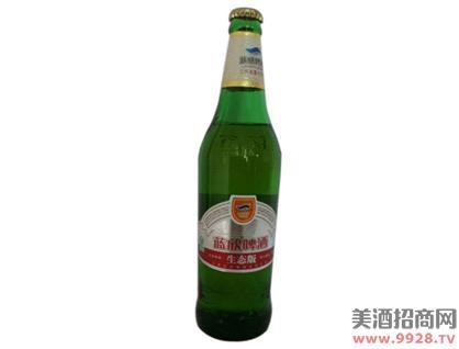 蓝欣生态版啤酒