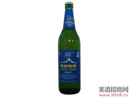 蓝欣特爽啤酒