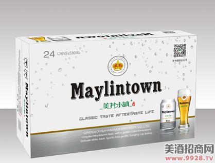 美林小镇啤酒330拉罐