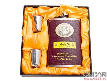 牛皮钢壶玛咖酒250ml