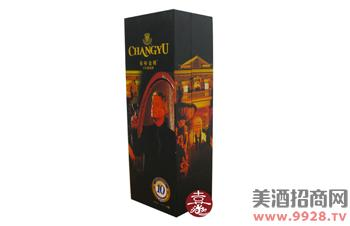 张裕金樽葡萄酒盒