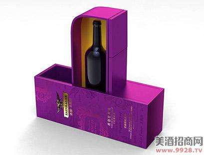 法国圣露斯葡萄酒包装设计