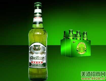 澜沧江清爽啤酒