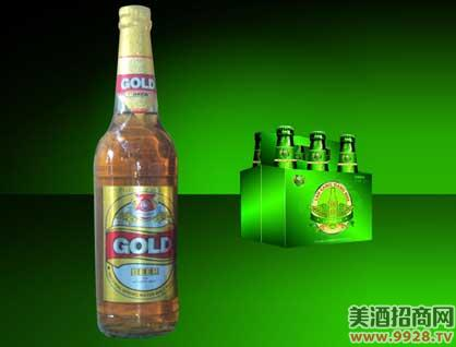 澜沧江金啤酒