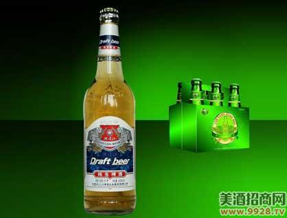 澜沧江纯生啤酒