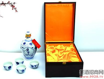 庐陵王酒青花瓷精品套盒装
