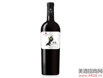 紫尚轮回蛇龙珠干红葡萄酒
